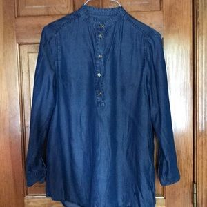 Women's Michael Kors Blue tunic